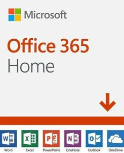 6 MONTH MICROSOFT OFFICE 365 HOME 2019 DIGITAL CODES
