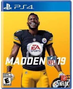 Madden NFL 19 - PS4 - PlayStation 4 - Sealed Brand New