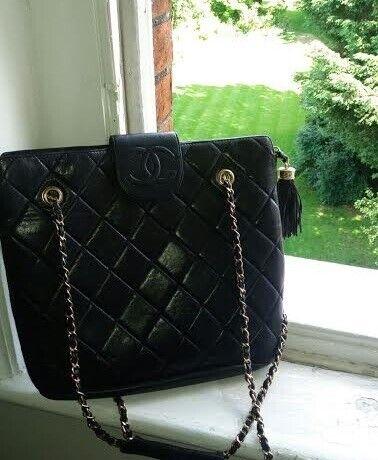 24345cabafcdf1 Vintage Coco Chanel Leather Bag | in Hampton, London | Gumtree
