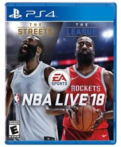 Brand New NBA Live 18 PS4
