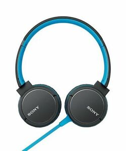 Sony Overhead Headphone, Blue - MDRZX660AP