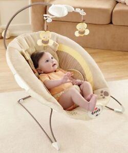 Fisher Price Vibrating 'Bear' bouncer chair