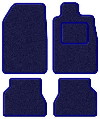 Lexus IS 200 98-05 Velour Blue/Blue Trim Car mat set
