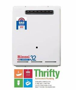 RINNAI 32L INFINITY CONTINUOUS FLOW GAS HOT WATER HEATER Granville Parramatta Area Preview