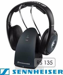 SENNHEISER RS 135 HIGH QUALITY RF WIRELESS HEADSET