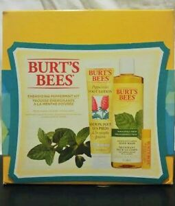 BURT'S BEES 'Energizing Peppermint Kit' - New in box