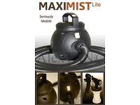 Maxi mist spray tan machine and tent.