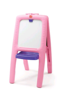 Step2 EASEL FOR 2 - Pink