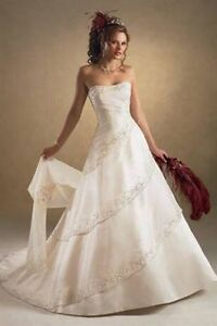 Maggie Sottero wedding gown size 12 with free matching veil!
