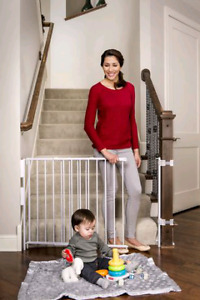 Regalo Top of Stairs Adjustable Baby Safety Gate