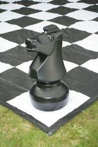 Giant Chess with 8' x  8' Mat