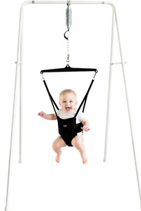 Jolly jumper with stand and musical mat
