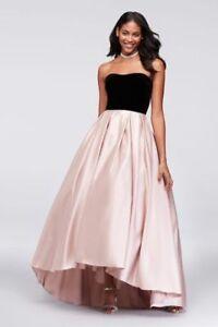 Evening Dress - Strapless Ball Gown