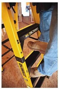 Rock Bottom Price for Dewalt DXL3810 - 6FT STEP LADDER