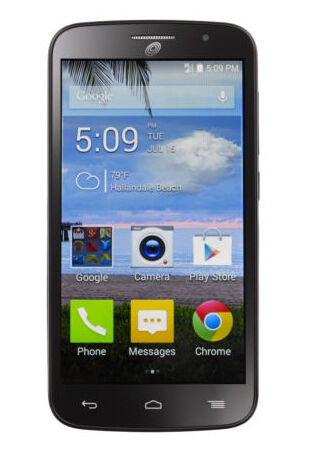 ALCATEL ONETOUCH Pop Icon - 4GB - Black (TracFone) Smartphone