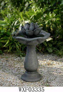 NEW Clear out Price!! Hometrends Lotus Patio Fountain