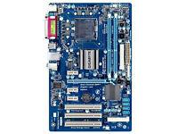 Gigabyte GA-P41T-D3P motherboard & CPU bundle