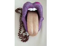 OMG MICK JAGGER/GENE SIMMONS STYLE TELEPHONE ORNAMENTAL ONLY SOME ISSUES