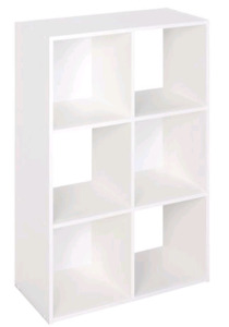 2 Stackable 6 Cube Organizers (used only for 1 year)