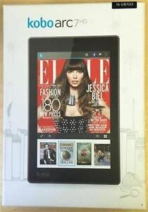 """Kobo Arc 7 HD 7"""" 16GB Android Tablet With NVIDIA Tegra 3 Processor (NEW)"""