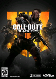 Call of duty black ops 4 for PC digital code