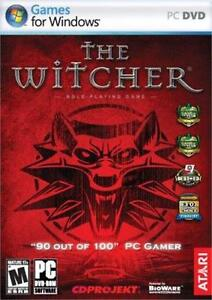 NEW PC THE WITCHER GAME VIDEO GAME SOFTWARE