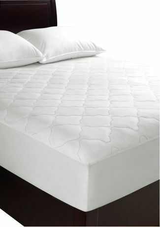 new mainstays waterproof mattress pad twin double king size other mississauga peel. Black Bedroom Furniture Sets. Home Design Ideas