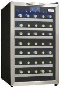 Danby Designer 45 Bottle Wine Cooler DWC458BLS