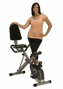 Exerpeutic 400XL Folding Recumbent Bike with Pulse