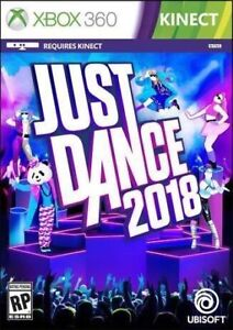 Just Dance 2018 Xbox 360 Kinect DEAL !