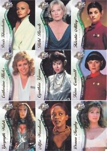 FEMALE GUEST STARS 9 CARD SET