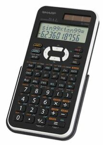 Sharp calculatrice scientifique EL-546X