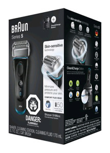 Braun Series 5190cc Electric Shaver w/Cleaning Centre