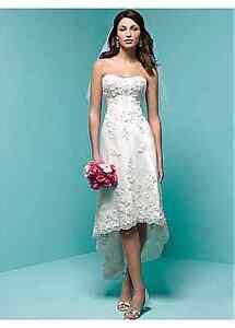 Wedding dress strapless sweetheart top