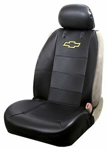 NEW: Chevy Sideless Seat Cover Black