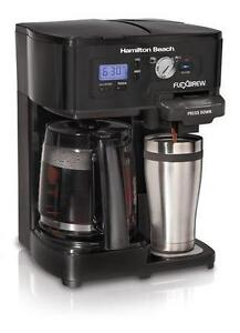 Hamilton Beach 12- Cup 2-way FlexBrew Coffee Maker- 49985C Regina Regina Area image 2