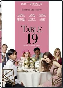 Table 19 DVD - $15 - Brand new, never opened