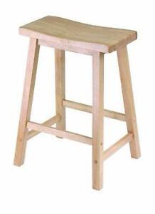 AUCTION New, Saddle Seat Stool - 84084 (open box) DI21