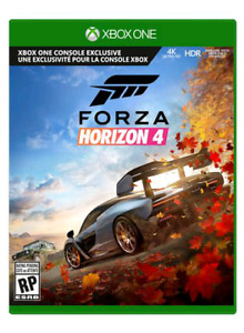 Forza horizon 4... For Xbox console.. Played once.