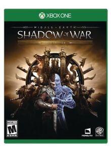 Shadow of War, XBOX 1