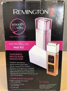NEW, Remington Smooth and Silky Electric Roll On Wax Kit - WXA-1080