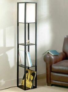 shelving unit with lamp for sale!