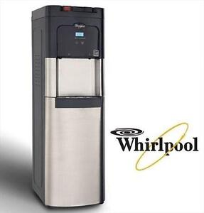 NEW WHIRLPOOL BOTTOM LOAD WATER COOLER HOT  COLD WATER COOLER - STAINLESS STEEL  - HOME - OFFICE - WATER DISPENSERS