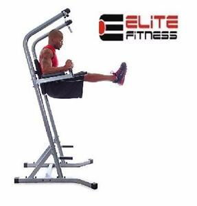 NEW ELITE FITNESS POWER TOWER PT 675 DELUXE  GYM FITNESS EXERCISE EQUIPMENT WORKOUT STRENGTH TRAINING 98209899