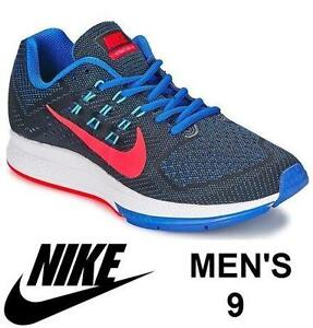 NIKE AIR ZOOM STRUCTURE 18 RUNNING SHOES – MEN'S 9