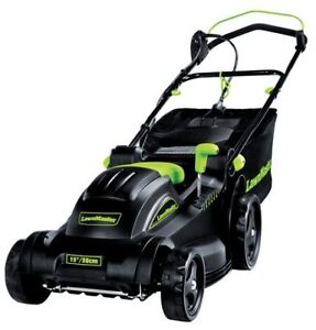 "LawnMaster 15"" Electric Lawn Mower  2-in-1 with Collection Bag"