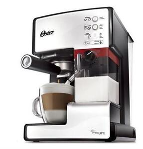 OSTER PRIMA LATTE 15-BAR PUMP ESPRESSO CAPPUCCINO LATTE MACHINE