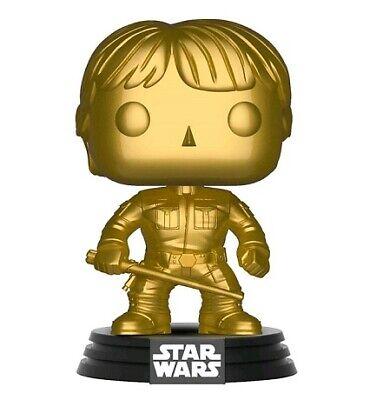 Star Wars Luke Skywalker Gold Metallic US Exclusive Pop! Vinyl Figure