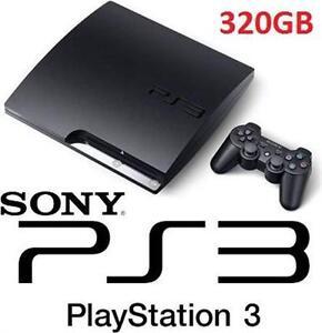 REFURB PS3 320GB SLIM CONSOLE VIDEO GAMES - PLAYSTATION 3 SYSTEM