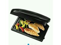 FAMILY 5 PORTION GRILL GEORGE FOREMAN FAT REDUCING GRILL